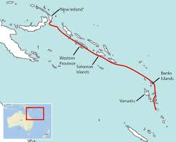 Vanuatu Map In Search Of The Little Known Tubenoses Of Melanesia By