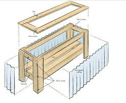 How To Build A Planter by Diy Planter Box Plans How To Make Wooden Planter Boxes