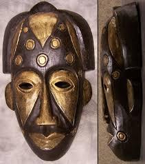 wall masks carved wood decorative tribal wall mask 8 x13 new ebay