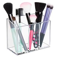 hair and makeup organizer mdesign affixx peel and stick adhesive vanity cosmetic organizer