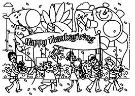 thanksgiving day parade coloring page 593631 coloring pages for