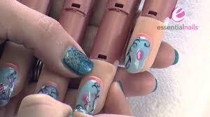 becca walton easter egg u0026 bird uv gel polish nail art design