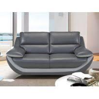 linea sofa canapé linea sofa canapé 3 places cuir supérieur italien emotion noir