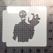 halloween jigsaw puzzle zombie stencil 105