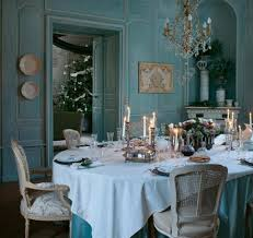 teal wall color with classic dining room ideas using white