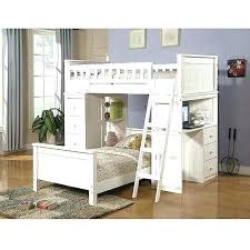 teenage bunk beds with desk bunk beds with shelves girls bed storage desk loft and twin white