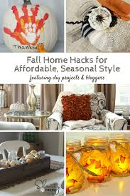 fall home hacks for affordable seasonal styling