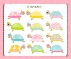 baby shower turtle clipart 70