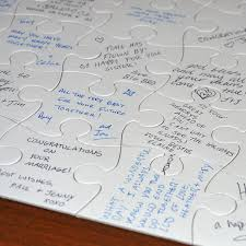 amazon com jigsaw2order extra large blank puzzle wedding guest