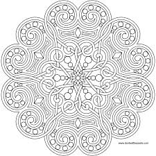 tons of designs a heart mandala to print and color also