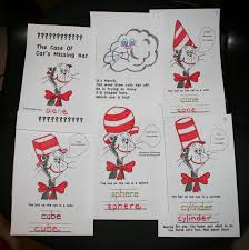dr seuss writing paper classroom freebies too pk 2 dr seuss cat in the hat 3 d shape book pk 2 dr seuss cat in the hat 3 d shape book