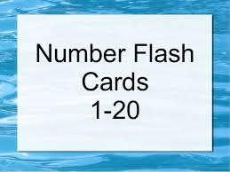 free printable number flashcards 1 20 number flash cards 1 20