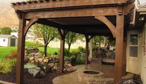 patio u0026 pergola apartments stunning backyard design with wooden