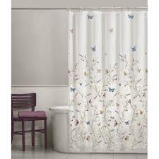 Vinyl Shower Curtain Maytex Garden Flight Peva Vinyl Shower Curtain Walmart