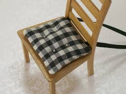kitchen pads squared kitchen chair pads plaid motive country