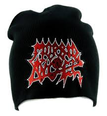 morbid angel death metal beanie alternative clothing knit cap