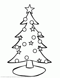 christmas tree christmas tree printable christmas tree coloring