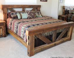 wood bed frame on ikea bed frame with luxury distressed wood bed