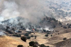 Wildfire Under King S Landing by Garza Fire Grows To Largest Wildfire In California Ksby Com