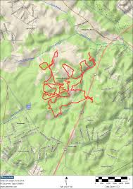 Patapsco State Park Map by Rosaryville State Park Side Trails 11 Miles Moderate Emily
