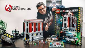 first lego ghostbusters firehouse headquarters set 75827 build and