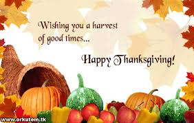 wishing you a harvest of times happy thanksgiving day