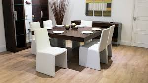 square dining table set for 8 8 seater square dark wood dining table and chairs funky glass legs