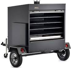 traeger com200 84 inch commercial trailer wood pellet grill with