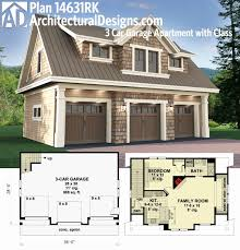 8 car garage one story house plans with 3 car garage luxury plan rk 3 car