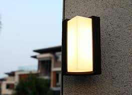 outdoor double wall light led outdoor wall light modern lighting attractive pertaining to