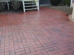 Pictures Of Stamped Concrete Walkways by Stamped Concrete Patio Floor Design U0026 Pattern With 10 Images