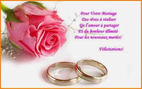 felicitations pour un mariage 7 félicitation pour un mariage format lettre