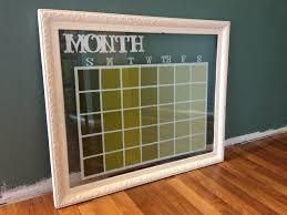 Glass Dry Erase Calendar Frame U2026 Pinteres U2026