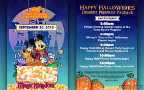 mickey s not so scary halloween party dates 2017 happy hallowishes dessert party premium package reviews and photos