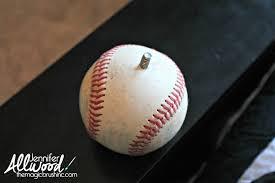 Baseball Home Decor Baseball Curtain Rod Finials The Magic Brush Inc Jennifer