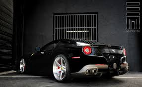 Ferrari F12 Matte Black - ferrari f12 berlinetta