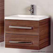 Designer Vanities For Bathrooms by Vanity Units With Drawers For Bathroom Vitale Designer 600mm