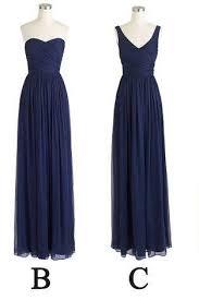 dark blue bridesmaid dress on luulla