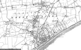 clacton on sea map maps of clacton on sea francis frith