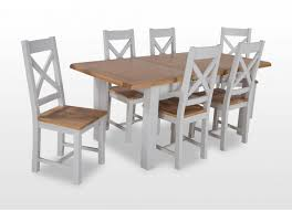 White Farmhouse Kitchen Table by Dining Tables Farmhouse Kitchen Table Sets 9 Piece Dining Set