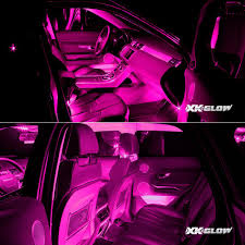 pleasant pink led lights for cars interior top inspiration