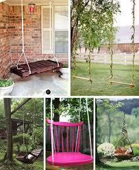 Backyard Swing Ideas Diy Swings I Think We Should Definitely Some Sort Of Swing
