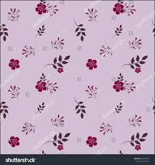drawing small lilac flower on light stock vector 619070231