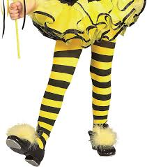 amazon com rubies striped child bumble bee tights toys u0026 games