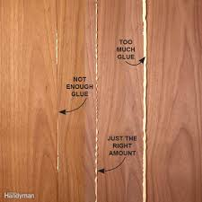 how to glue wood family handyman