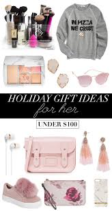 holiday gift ideas for her under 100 christmas gift guide