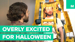 ross halloween costume ross marquand awkwardly goes to work in an elaborate costume a