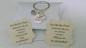 godmother keychain godmother gift godmother keychain will you be my godmother will