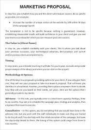 advertising proposal template best u0026 professional