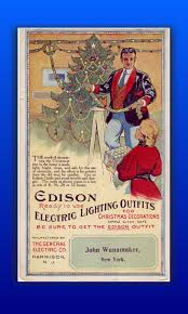 Antique Christmas Lights 1900 1920